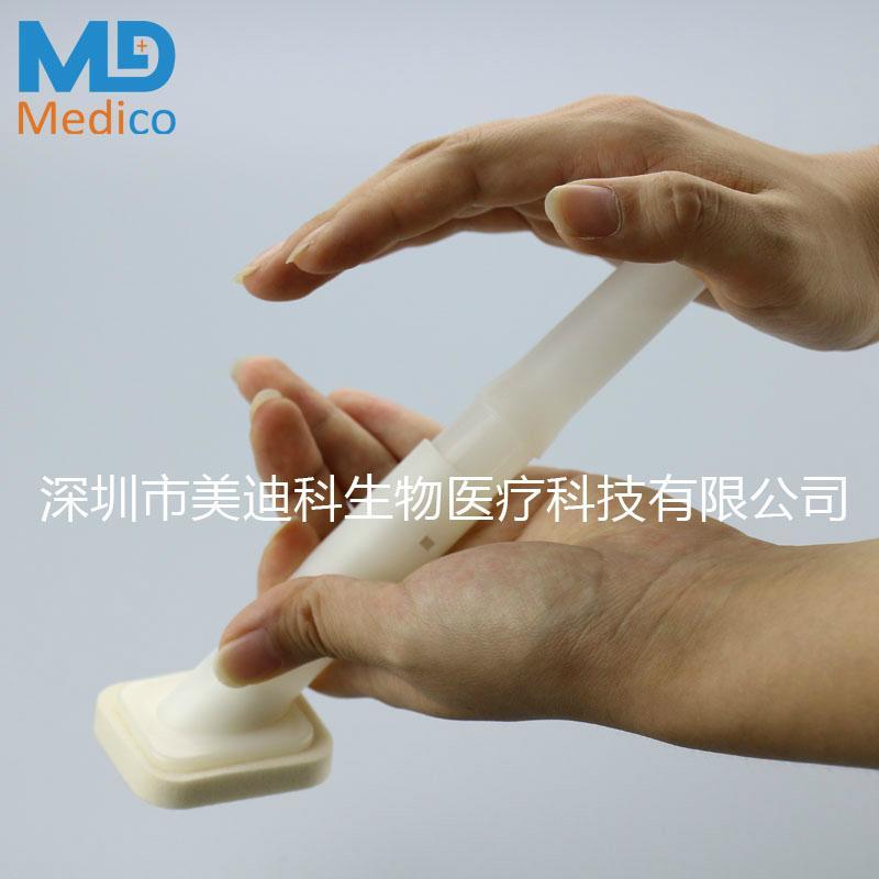 已定葡萄糖酸盐皮肤准备拭子敷贴器 1