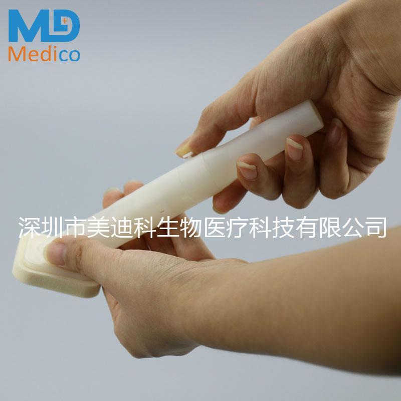 已定葡萄糖酸盐皮肤准备拭子敷贴器 4