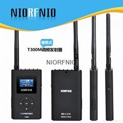 尼罗厂家直销手持0.3WFM调频发射机便携式调频广播设备