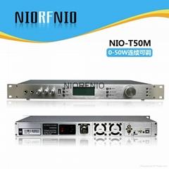 广州尼罗大功率50W立体音调频发射机景区广播系统