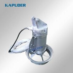厂家直销 QJB0.55kw  高速混合潜水搅拌器