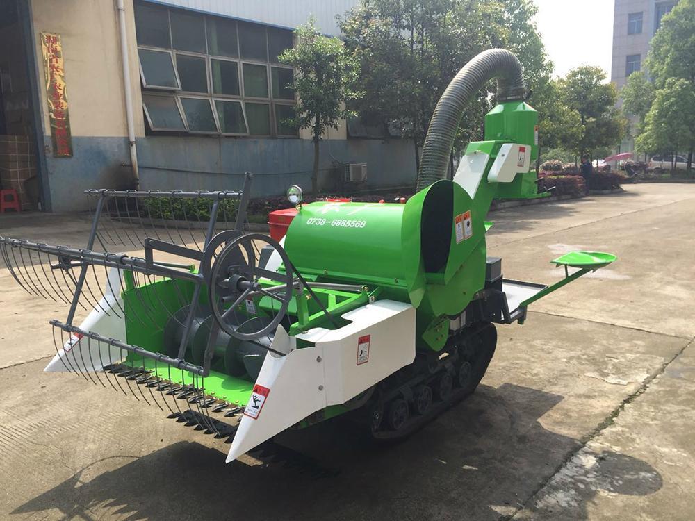 Mini Grain Harvester Machine 1