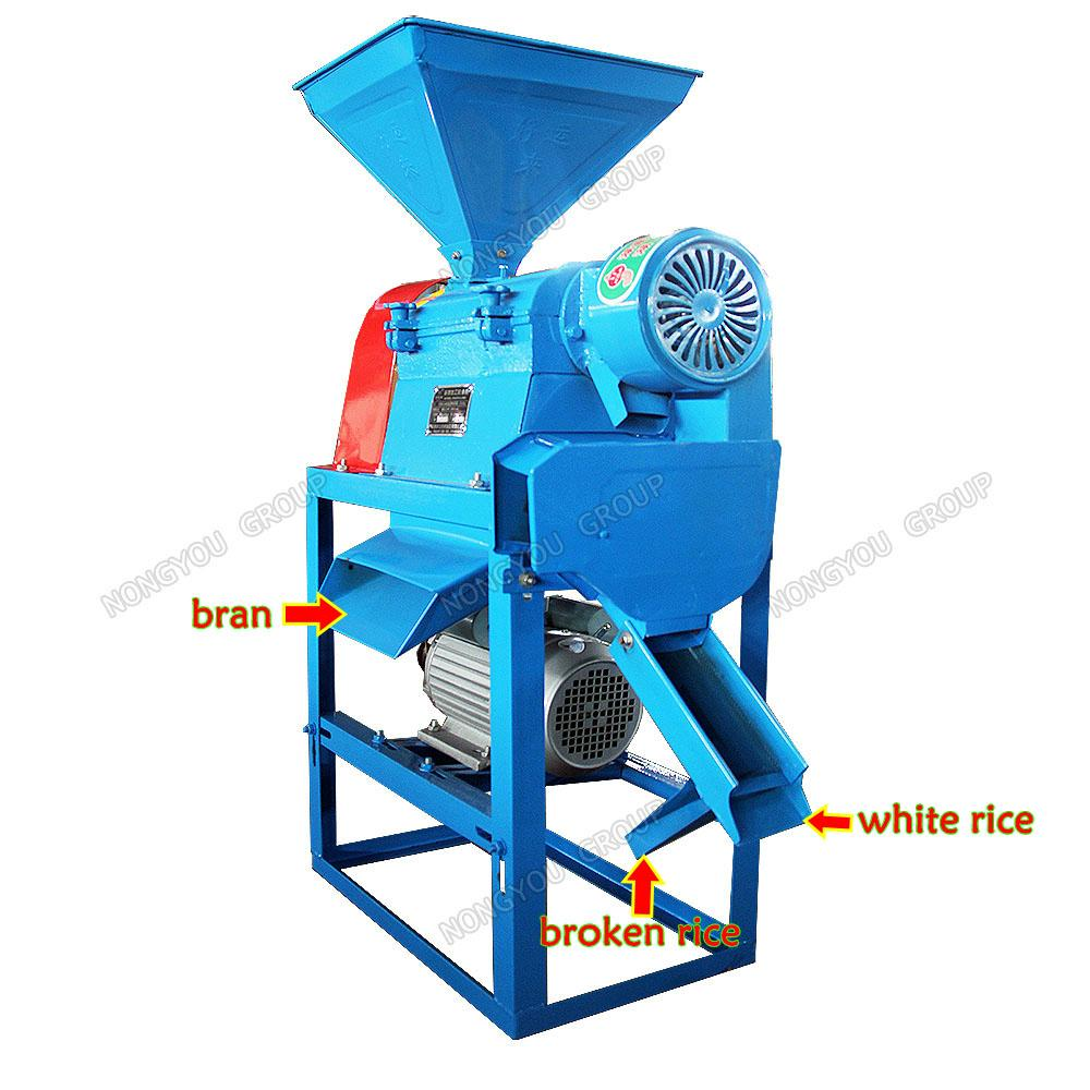 Rice milling machine  4
