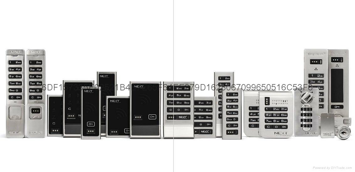 深圳供应Digilock机械密码柜门锁 2