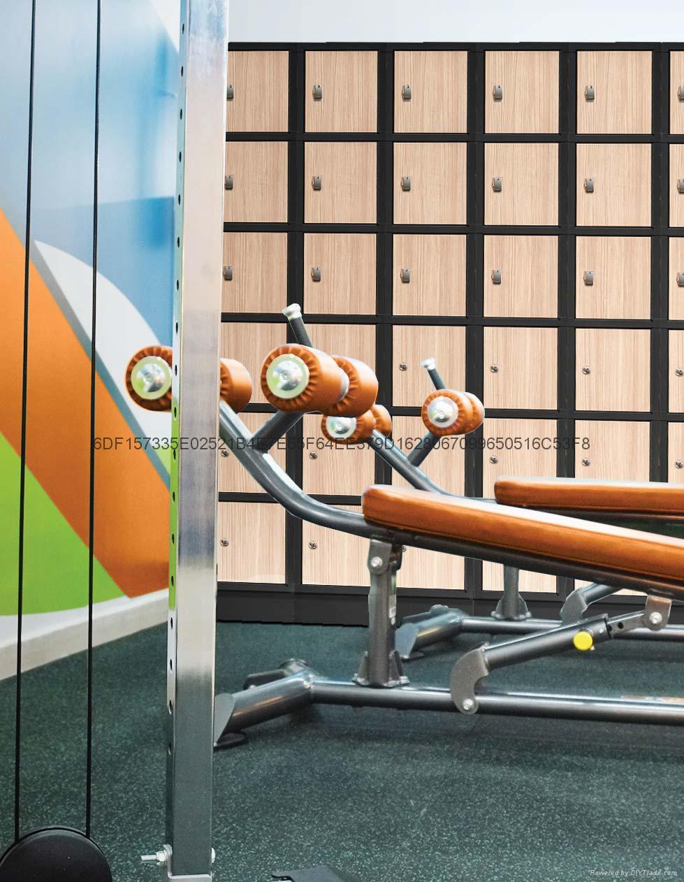 Digilock健身房专用感应式密码锁 5
