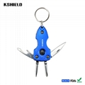 The New Design Metal Multi Functional Keychains Wholesale for Gifts 2