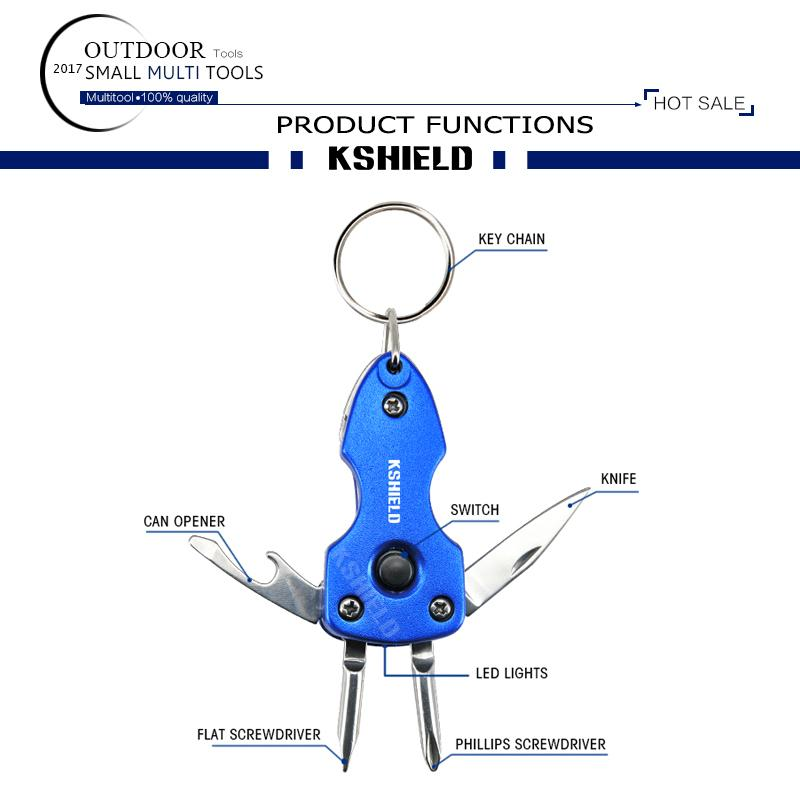 The New Design Metal Multi Functional Keychains Wholesale for Gifts 5