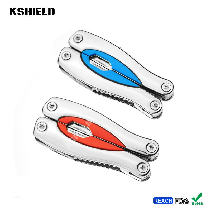 Hotsale Different Types of Stainless Steel Folding Multi Hand Tool Pliers with P 5