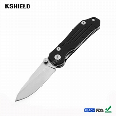 High Quality Hot EDC Aluminum Handle Stainless Steel Easy Carry Multi Purpose Fo