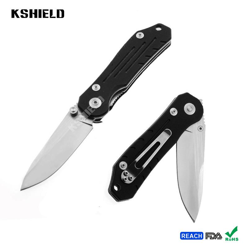 High Quality Hot EDC Aluminum Handle Stainless Steel Easy Carry Multi Purpose Fo 2