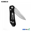 High Quality Hot EDC Aluminum Handle Stainless Steel Easy Carry Multi Purpose Fo 3