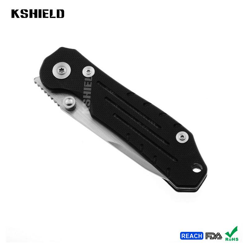 High Quality Hot EDC Aluminum Handle Stainless Steel Easy Carry Multi Purpose Fo 4