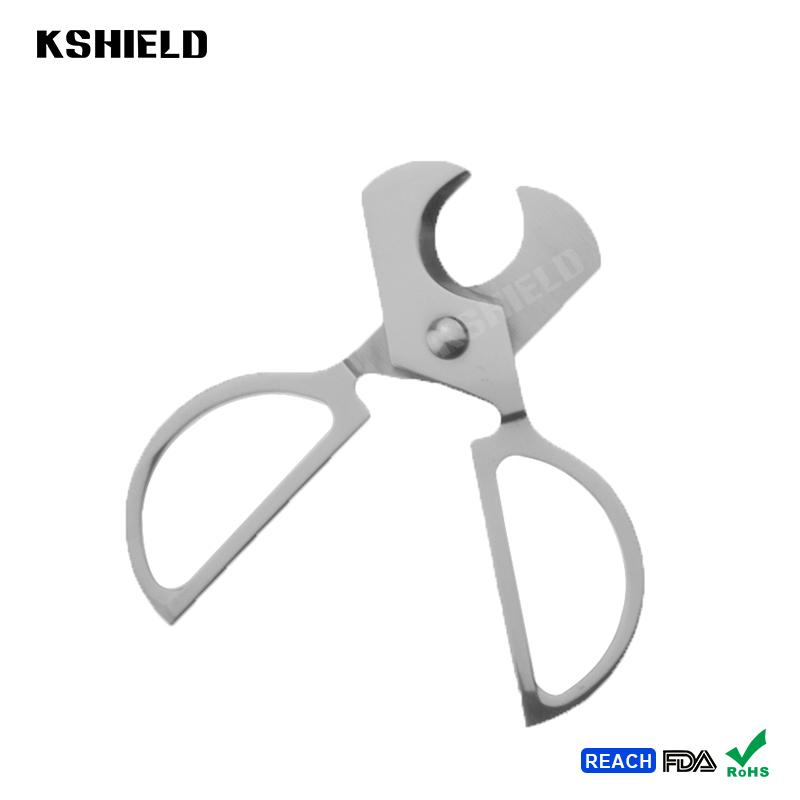 High Quality Stainless Steel Wholesale Cigar Cutter Cigar Scissors with Cheap Pr 2