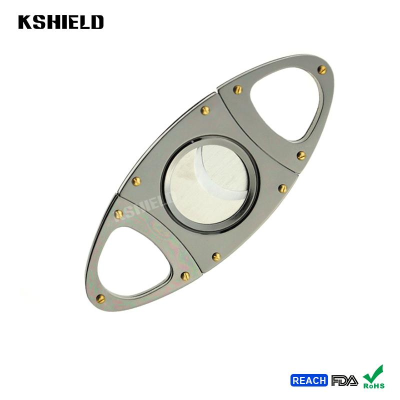 Cheap Promotional Cool Style Super Quality Stainless Steel Cigar Cutter 2