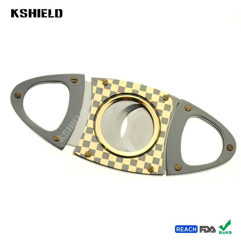Cheap Promotional Cool Style Super Quality Stainless Steel Cigar Cutter 3