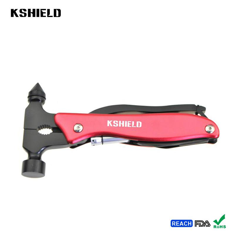 High Quality Stainless Steel Multi-purpose Safety Hammer Tool 4