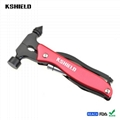 High Quality Stainless Steel Multi-purpose Safety Hammer Tool 2