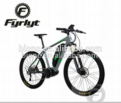 26'' BAFANG Mid-drive 250W 36V electric bicycle mountain bike
