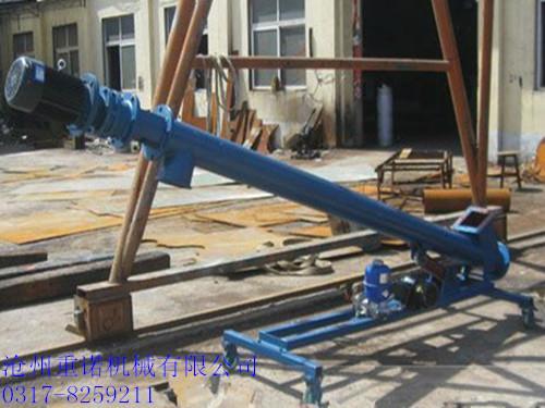 無軸螺旋輸送機的特點滄州重諾 5