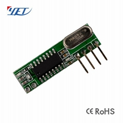 wireless remote control receiver module with 24v relay