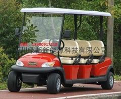 四輪電動觀光車