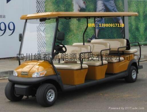 雲南普洱電動觀光遊覽車 1