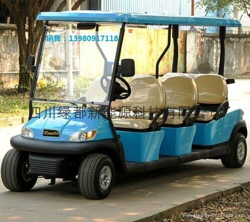 雲南普洱電動觀光遊覽車 4
