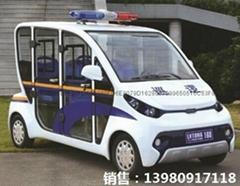社区巡逻车