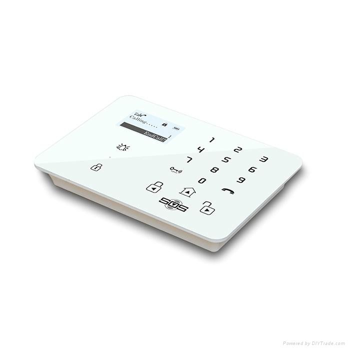 GSM 3G Touch Keypad Alarm System with Dial to Open Gate 1