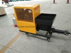 mortar spraying machine with high speed