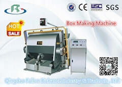 Platen Small Corrugated Carton Box Machine