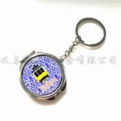 葡萄牙里斯本系列電車公雞旅遊紀念品金屬鑰匙扣定製