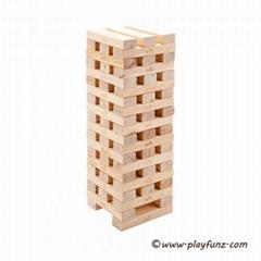 Garden Wooden Game Gaint Hi-tower -60pcs