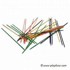 Giant 30pcs Wooden Garden Game Pick Up Sticks Mikado