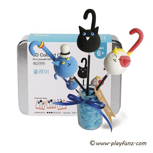 Color Play Dough Model Tool Toys Creative 3D Clay Plasticine Tools Set 1