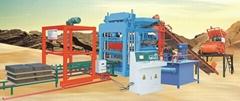 Hydraulic automatic brick making machine