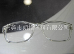 TR90 transparent nylon used in the lens