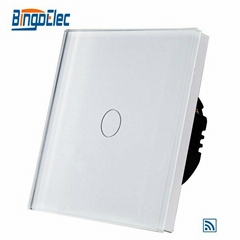New design 1 gang 1 way dimmer wall