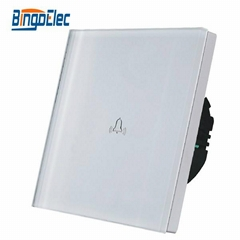 1 gang doorbell touch wall switch