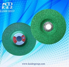Resin bonding agent flat shape cutting wheel