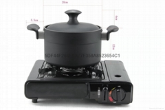 廠家直銷Balun不粘無油煙壓製成型石墨湯鍋