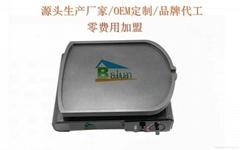 Foshan balun sub graphite non stick pan without oil fume 34vm graphite grill