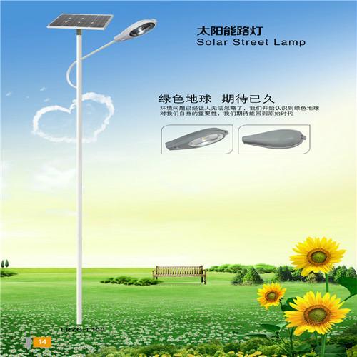 供应烈日之光7米太阳能路灯 1