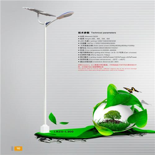 供應烈日之光7米太陽能路燈 2