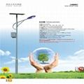 供應烈日之光7米太陽能路燈 4