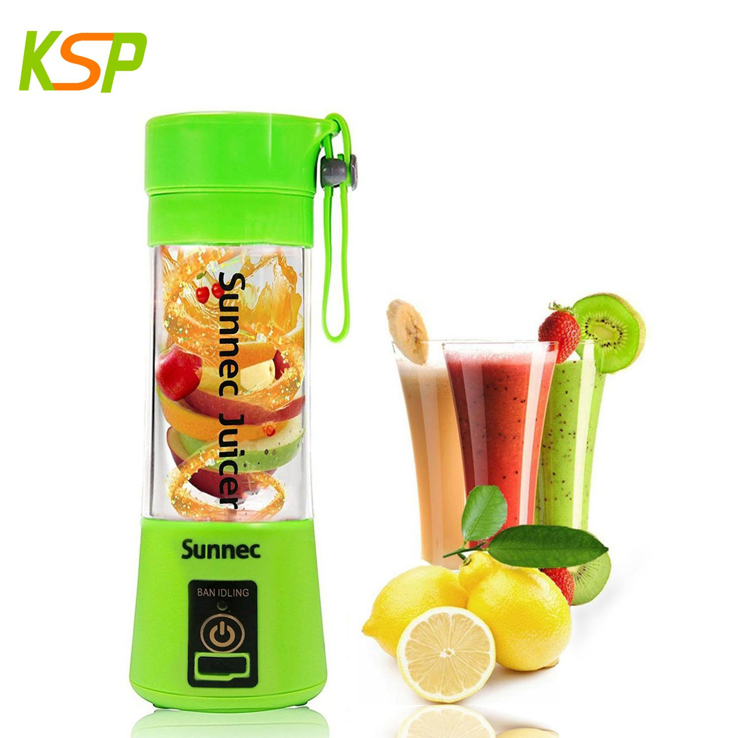 Mini portable colorful electric fruit juicer rechargeable battery juicer cup 1