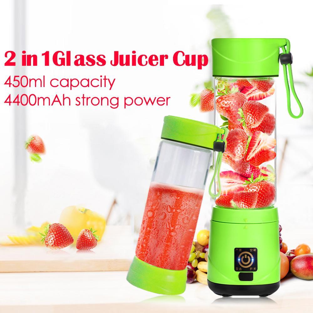 Rechargeable mini usb portable joyshaker bottles blender for smoothie maker 1