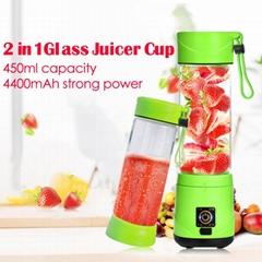 Rechargeable mini usb portable joyshaker bottles blender for smoothie maker