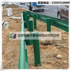 安徽波形护栏厂家定制生产 高品质公路防撞波形护栏