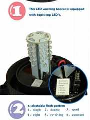 Hot sales Roadway Traffic light/LED Beacon Warning Light